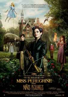 El hogar de Miss Peregrine para niños peculiares (DIG)